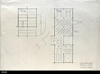 Blueprint - Heritage Room Lower and Main Level - 110-76