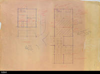 Blueprint - Heritage Room Lower and Main Level - Annotated Copy -  Schematic...