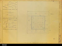 Blueprint - Heritage Room Reflected Ceiling Plan - Job No. 101-76