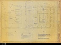 Blueprint - Heritage Room Power, Communications, and Lighting Plan - Job No....