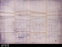 Blueprint - Woman's Improvement Club - First Floor Plan (Mechanical) and Roof...