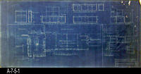 Blueprint - Woman's Improvement Club - Alterations, Addition and Repairs - Floor...
