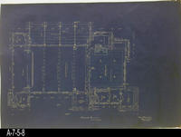 Blueprint - Woman's Improvement Club - Floor Plan