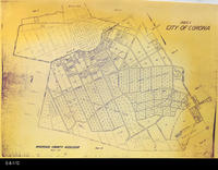 Map - Undated - Corona -  Assessor's Map 8A
