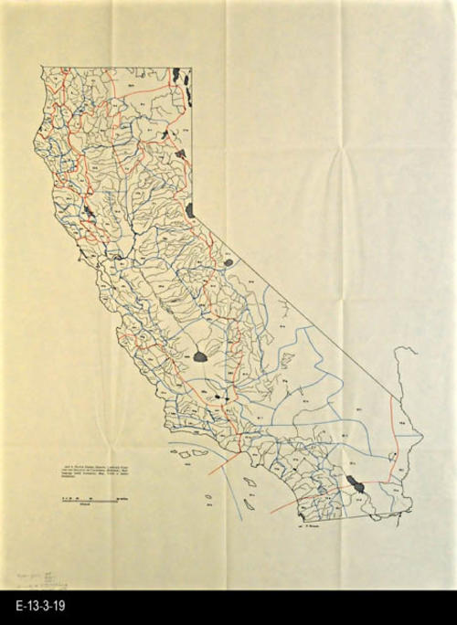 "This undated map shows the native tribes, groups, language families and dialects of California (Kroeber) - MEASUREMENTS:  29"" x 22"" - CONDITION:  Good- COPIES:  1 - MAP ORIENTATION: Top is NORTH."