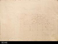 Blueprint - c. 1989 - Concept Plan for the Corona Public Library
