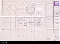 Blueprint - Corona Public Library -  D-2-2-9, Main Level, Furniture Plan, South...