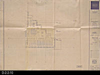 Blueprint - Corona Public Library -  D-2-2-10, Main Level, Furniture Plan, East...