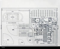 Blueprint - Architectural Drawing - c. 1989 - Centennial High School