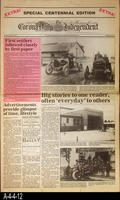 Newspaper - 1987 - The Corona Daily Independent - Special Newspaper Centennial...