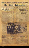 Newspaper - 1913 - The Corona Independent - Local news, ads, and personals....