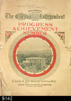 Newspaper - 1915 - The Corona Independent - Progress and Achievement Number