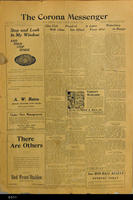 December 17, 1908 - The Corona Messenger