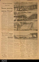 Newspaper - 1969 - The Daily Enterprise - Flooding In Corona