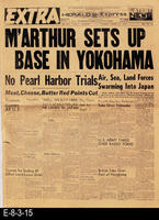 1945 - M'Arthur Sets Up Base In Yokohama