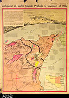 Newspaper - 1943 - Los Angeles Times - Map - Conquest of Coffin Corner Prelude...