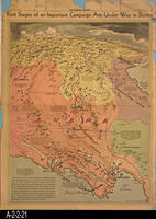 Newspaper - 1943 - Los Angeles Times - Map - First Stages of an Important Campaign...