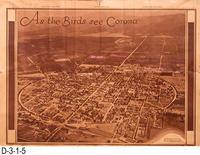 Newspaper - Aerial Photo:  As the Birds See Corona