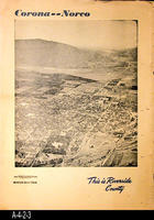 Newspaper - c. 1955 - Corona-Norco - This is Riverside County
