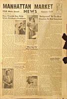 Newspaper - 1942 - Manhattan Market News - Consumer Information - Grocery Advertisements...