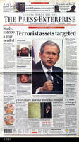 "Newspaper - 2001 - The Press Enterprise - ""Terrorist assets targeted"""