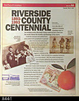 Newspaper - 1993 - The Press Enterprise - Riverside County Centennial, 1893-1993...