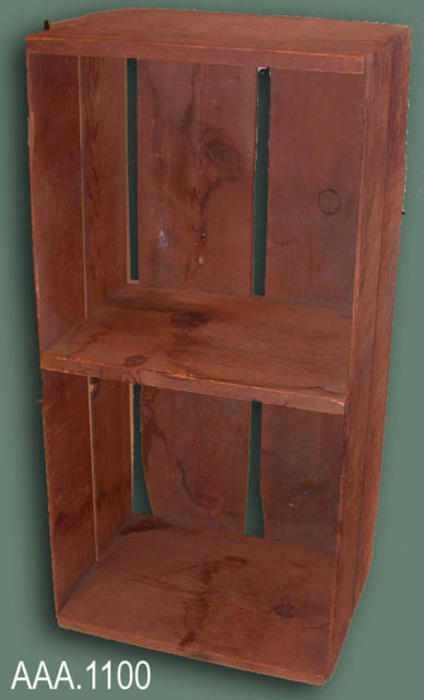 This artifact is a wood packing crate used by the citrus industry.