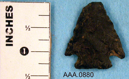 This artifact is a Gabriel Point.  Its age and source is unknown.