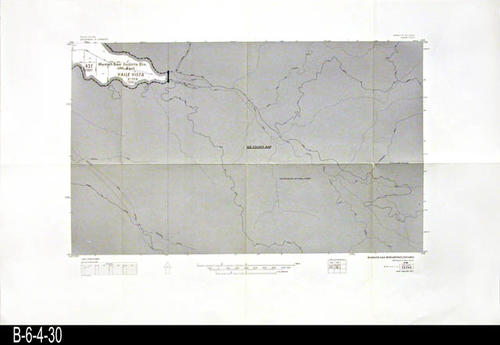 "This map covers Block No. 522NE - Valle Vista, Hemet - San Jacinto Div.   - MEASUREMENTS:  22"" x 34"" - CONDITION:  Very Good - COPIES:  1."
