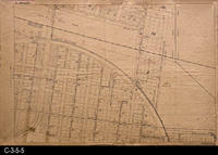 Map - D-2 - Corona 5 - Northeast Area of the Grand Blvd. Circle and the area...