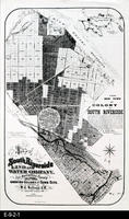 1887 - Map of South Riverside