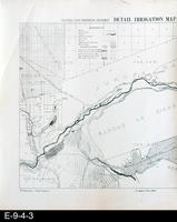 1888 - Riverside Sheet (left side) Detail Irrigation Map -White Copy