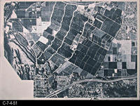 Map - 1987 - South Corona  Base Map - Aerial Map - A-400-11