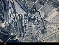 Map - 1987 - South Corona  Base Map - Aerial Map - A-200-8