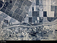 Map - 1987 - South Corona  Base Map - Aerial Map - A-200-5