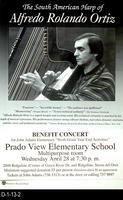 "Poster - Benefit Concert, John Adams Elementary ""Sixth Grade Year End Activities""..."
