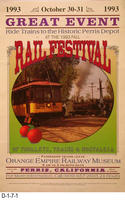 Poster - Great Event - Rail Festival