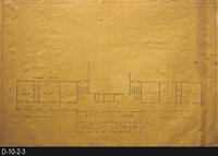 Blueprint - 1963 - Civic Center - Second Floor - East and West Wing
