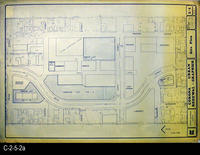 Blueprint - 1972 - Corona Urban Renewal - Graphics - Site Plan - L1