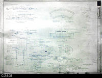 Blueprint - 1969 - Corona Mall - Redevelopment Project -Details, Elevations...