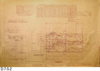 Blueprint - Phase 1 Alterations - Civic Center Gymnasium - Page 2: Floor Plan...