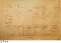 Blueprint - Phase 1 Alterations - Civic Center Gymnasium - Page 3: Sections...