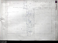 Blueprint - 1969 - Corona Mall - Redevelopment Project - Landscape Layout and...