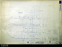 Blueprint - 1968 - Corona Mall - Redevelopment Project - Parking Plan - A5