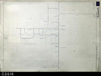 Blueprint - 1969 - Corona Mall - Redevelopment Project - Mechanical Plan - Center...