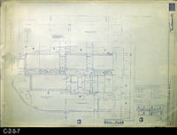 Blueprint - 1968 - Corona Mall - Redevelopment Project - Mall Plan - A2