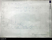 Blueprint - 1968 - Corona Mall - Redevelopment Project - Plan of Existing Shops...