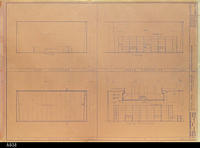 Blueprint - Heritage Room Elevations - Job No. 101-73