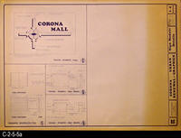 Blueprint - 1972 - Corona Urban Renewal - Graphics - Sign Module Details - L4...