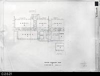 Blueprint - 1969 - Corona Mall - Redevelopment Project - Master Landscape Plan...